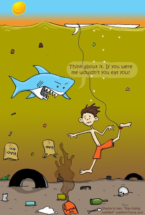 Water+pollution+cartoon