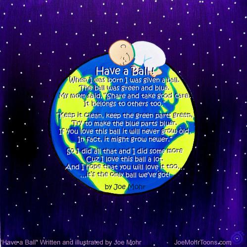 Earth Day Poem | Joe Mohr's Cartoon Archive