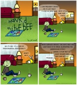 Hank D and the Bee: Gray Hair = Green Mind