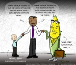 The Feds and Food=Fooderal Confusion [cartoon]