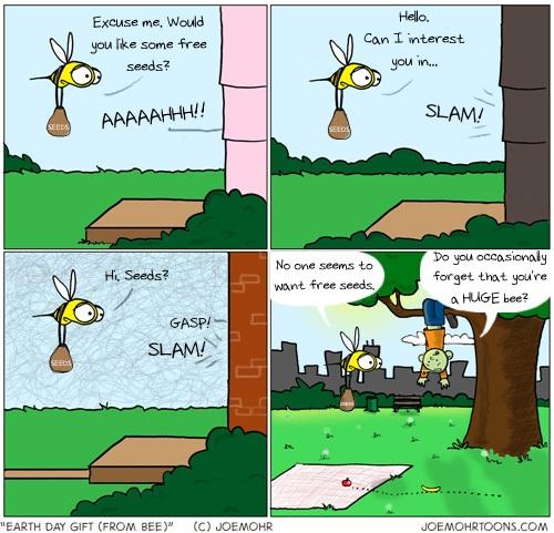 earth day cartoon. Last year#39;s Earth Day posts