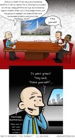 "Feds to Monsanto: ""F*ck you!"" (cartoon)"
