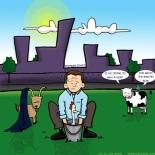 The Urban Conversion cartoon