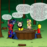 Toys discuss rainforest destruction...and nipples