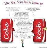 Take the Koch Challenge (cartoon)
