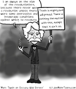 Mark Twain on Occupy Wall Street