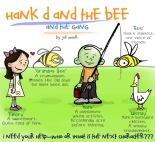 Hank D and the Bee: Help Create a New Cartoon Character