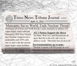 April 11, 2022--Monsanto Saves the World!