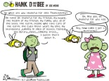 Hank D and the Bee: Be Thankful