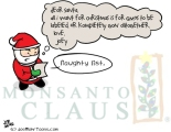 Monsanto Claus: Ho Ho Oh No!