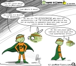 Hank D and the Bee: The Defenestrator and The Exfoliator--Dynamic Duo?