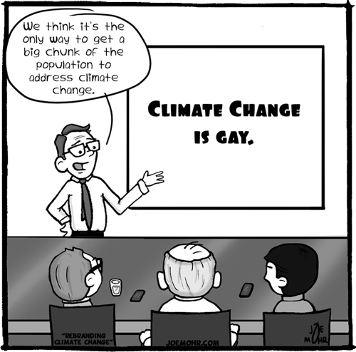 Climate Change is Gay