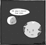 Earth Jealous of Moon