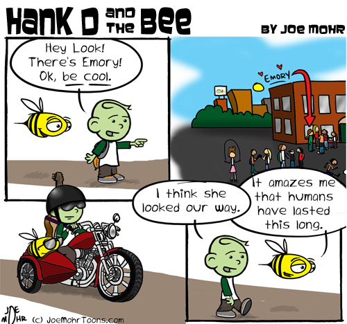 Hank D and the Bee: Young Love...Be Cool