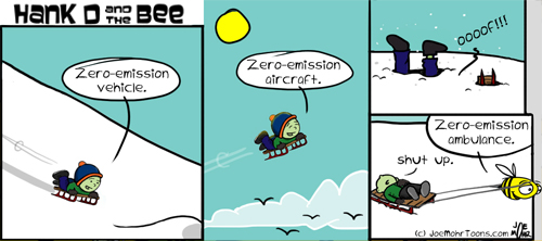 Hank D and the Bee: Green Travel