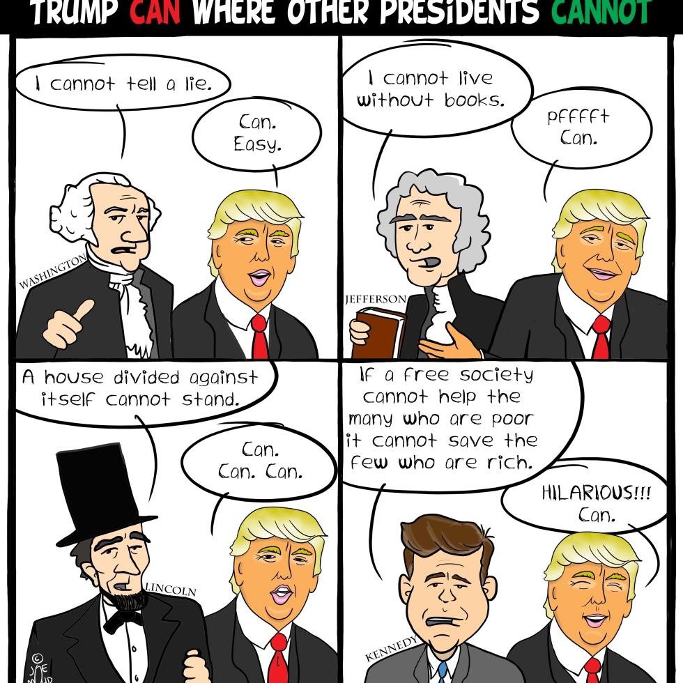 Abraham Lincoln Cartoon Broster By Joe Mohr